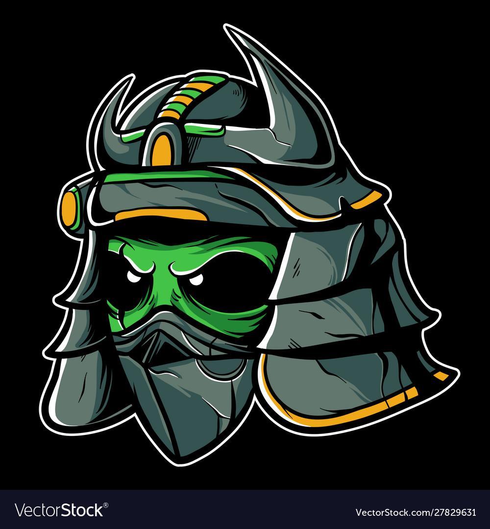 Alien samurai
