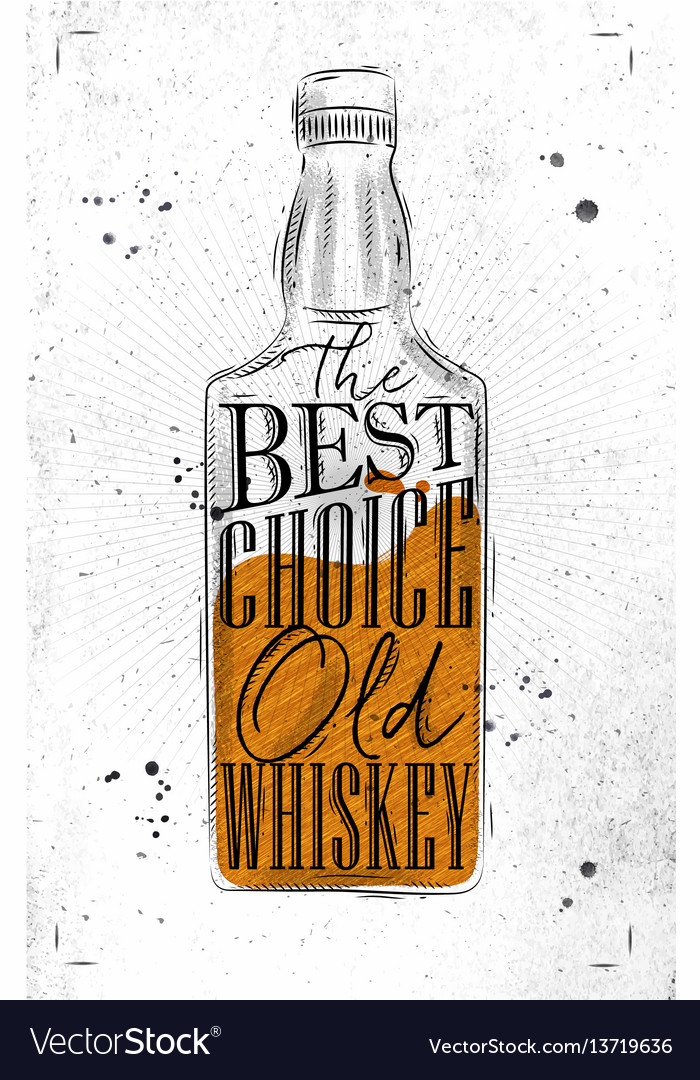 Poster whiskey best choice paper