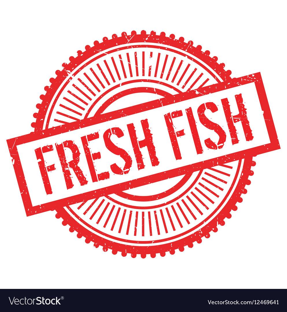 Fresh fish stamp