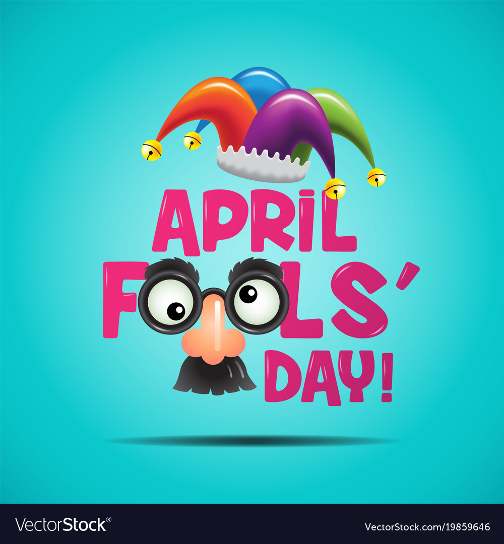 April fool s day typography