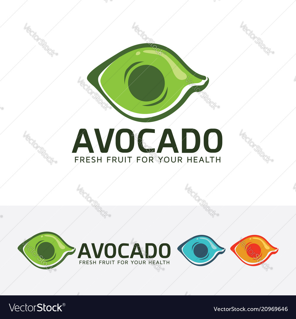Avocado logo design