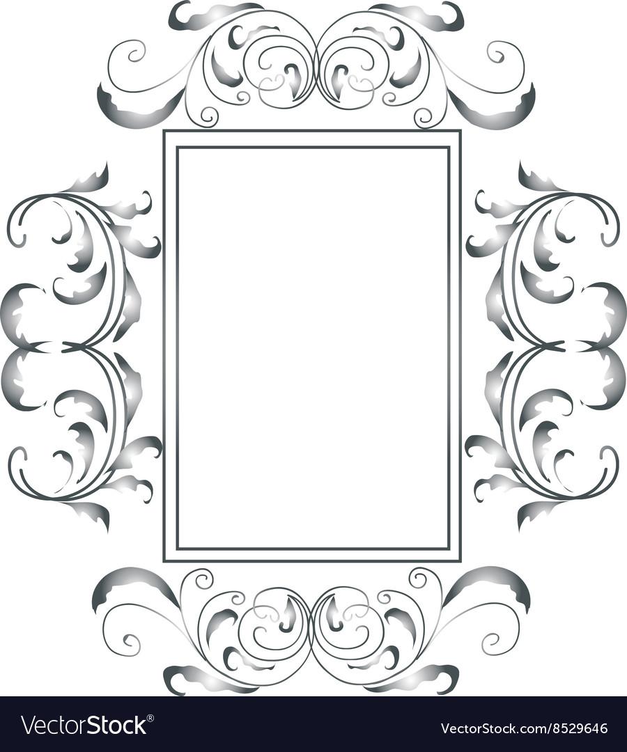 Sliver victorian frame