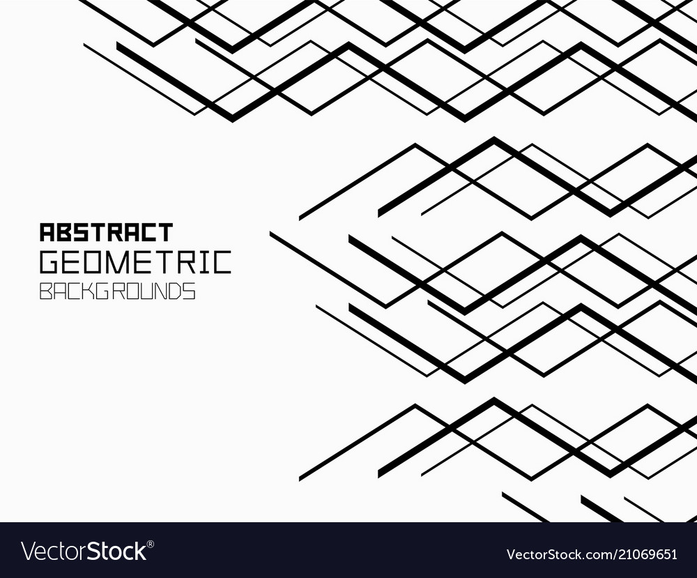Abstract geometric background with lines