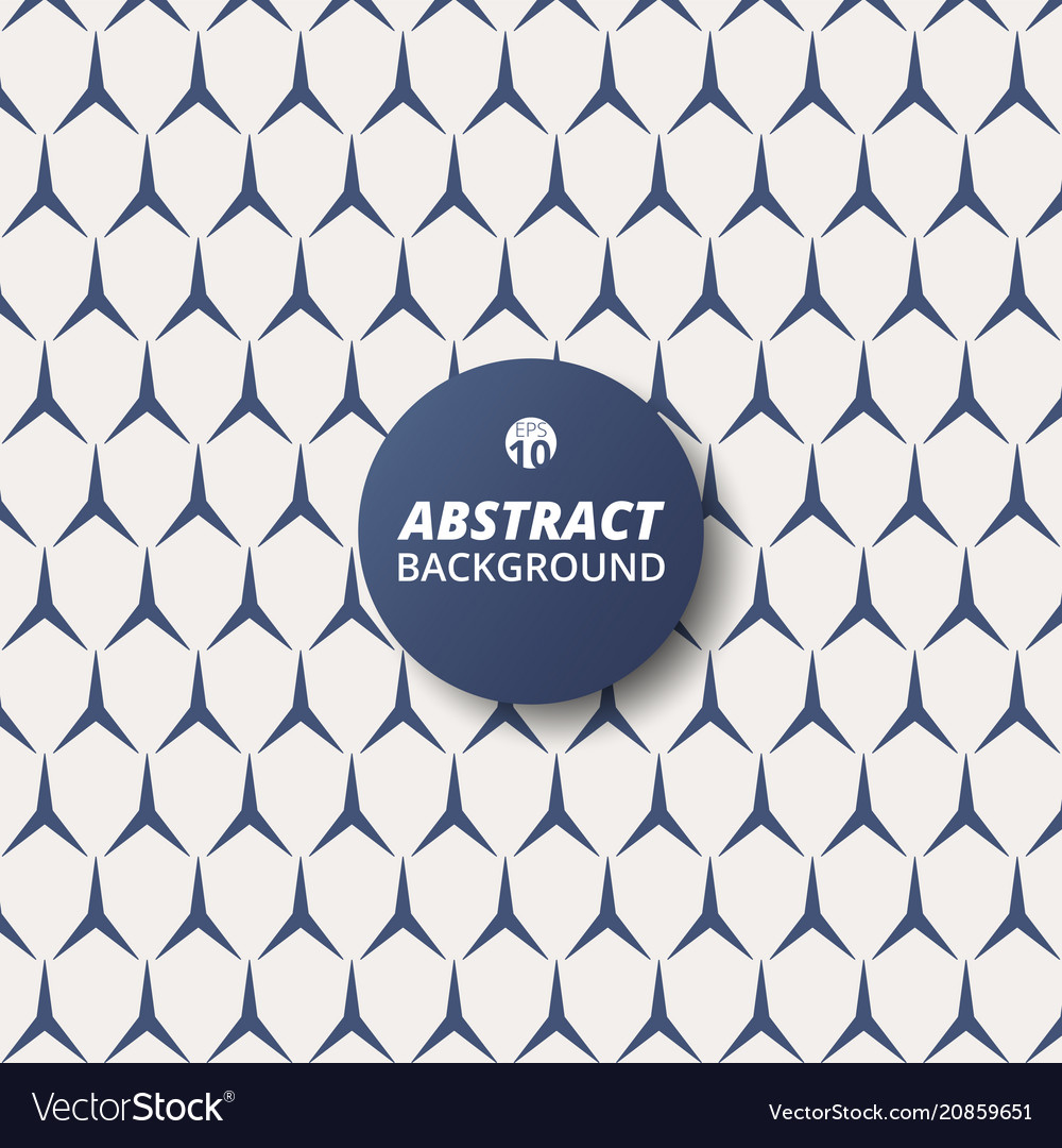 Abstract of blue triangle shape patterns modern