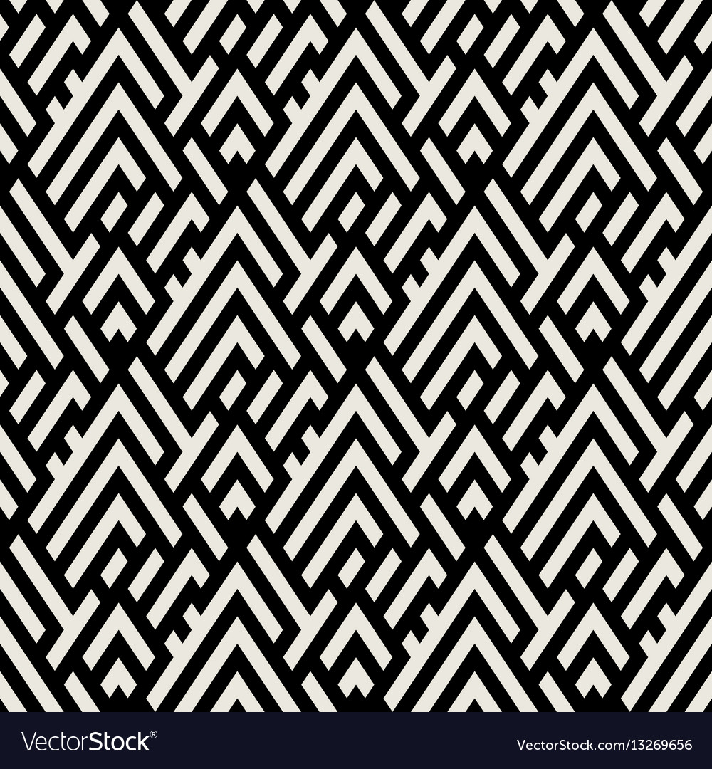 Abstract geometric pattern with maze