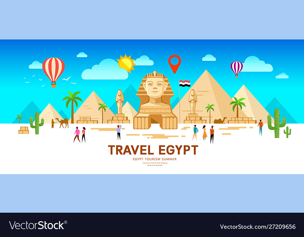 Egypt travel people pyramid traditional