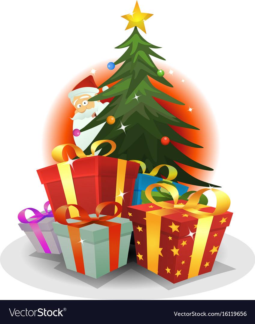 Santa claus delivery