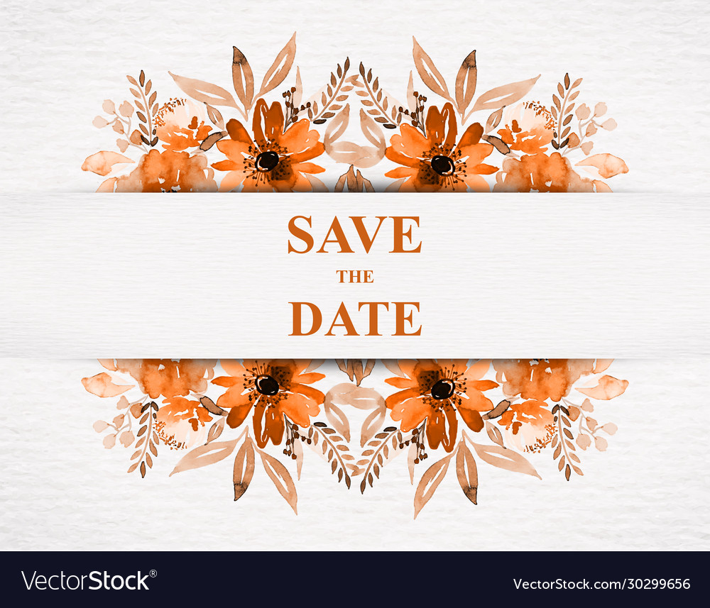 Save date for personal holiday wedding