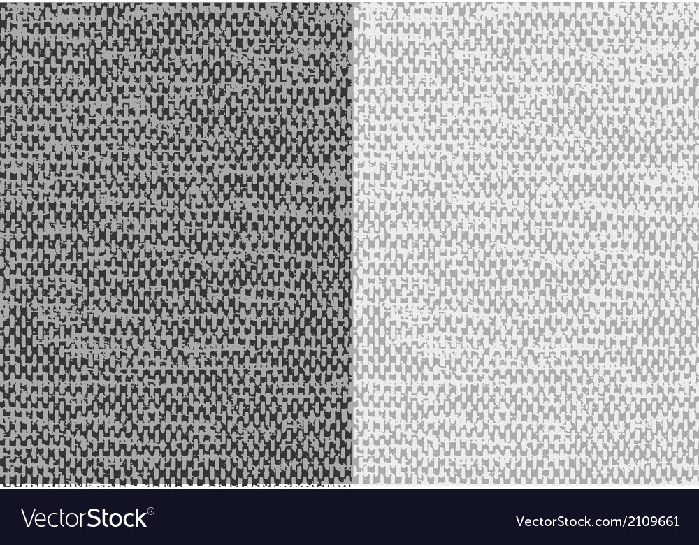 Abstract textured canvas linen fabric background vector image