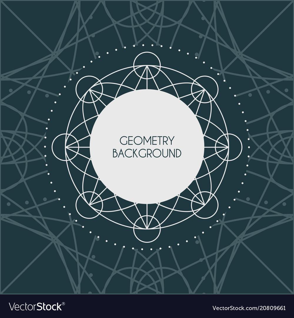 Magic geometry background