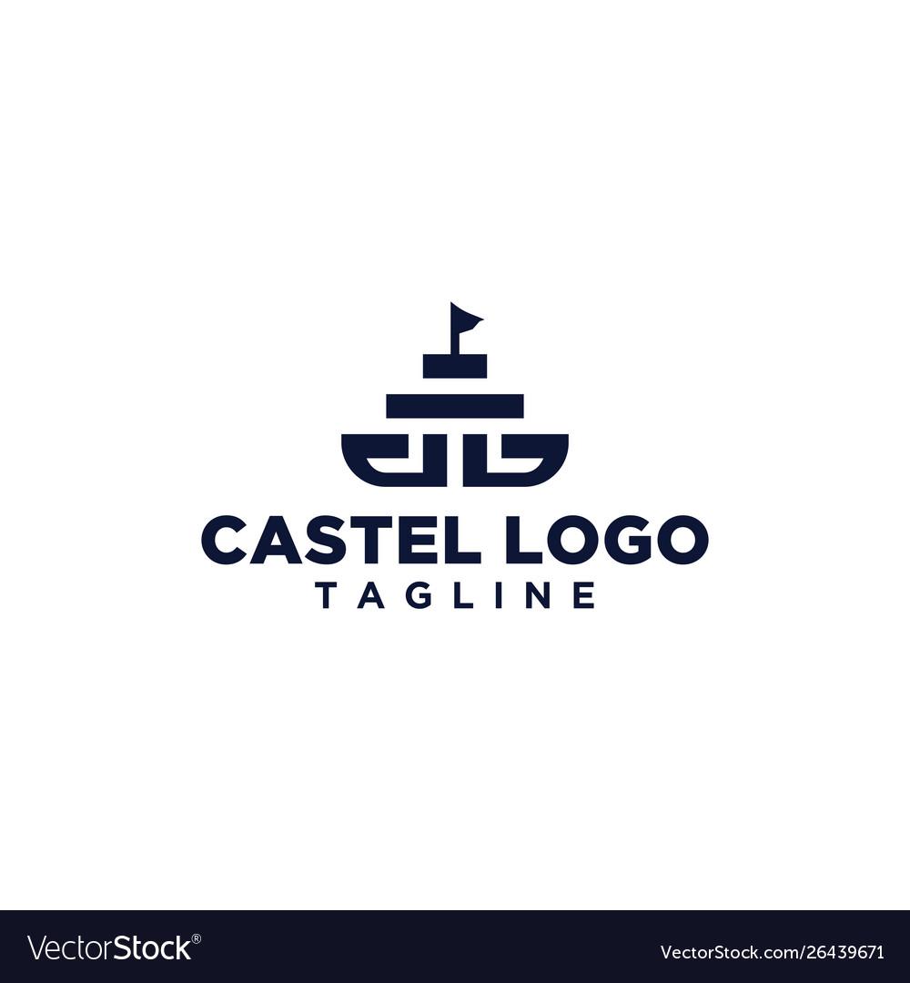 Castel logo design inspiration