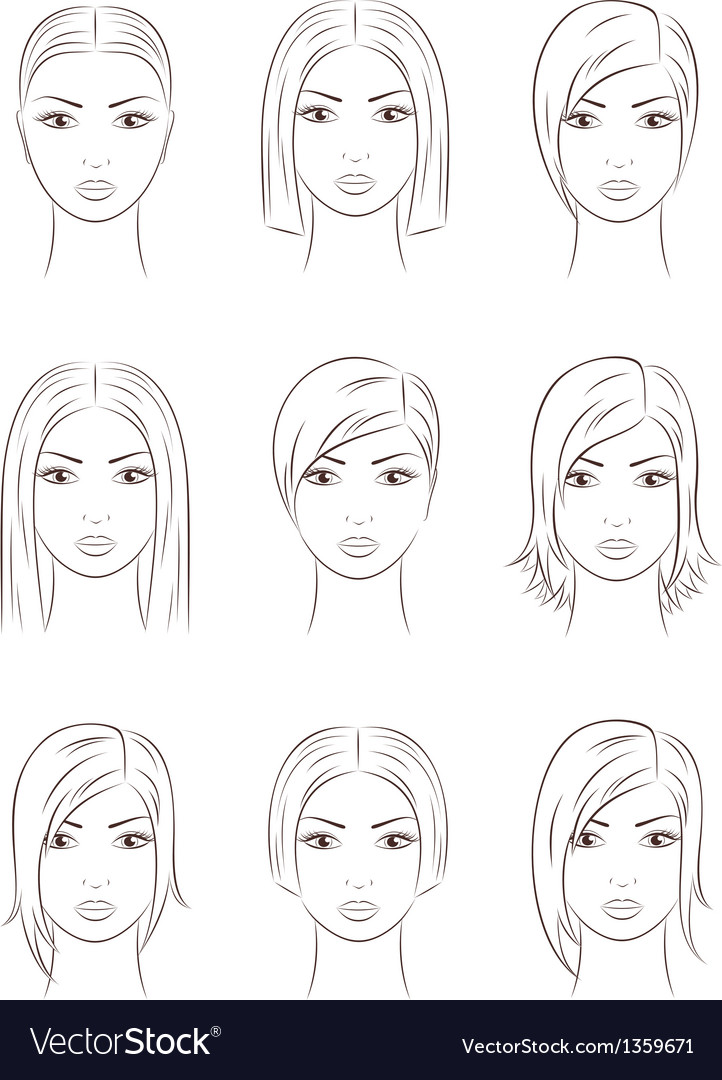 Women faces
