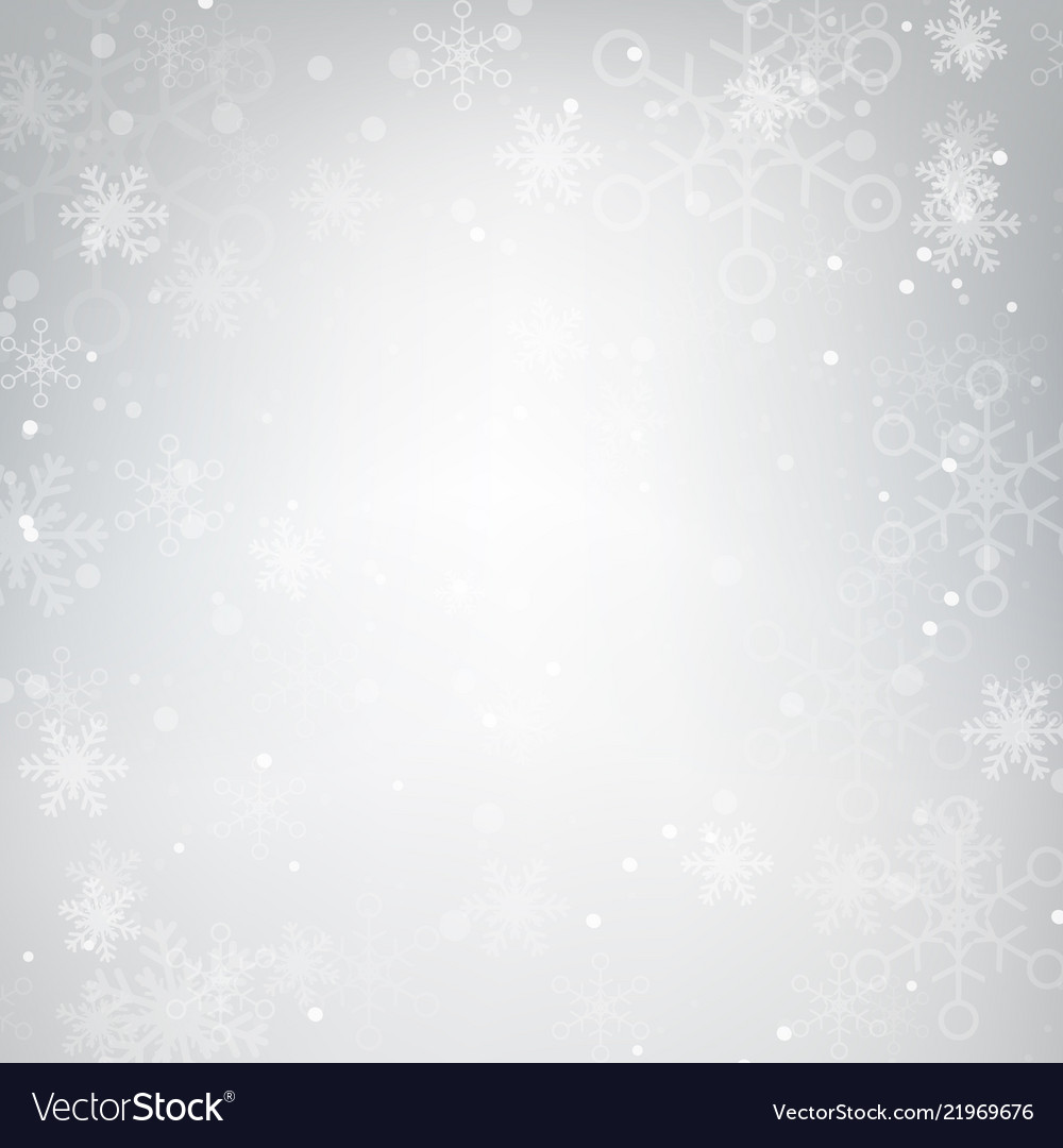 Abstract background snow falling against grey 001