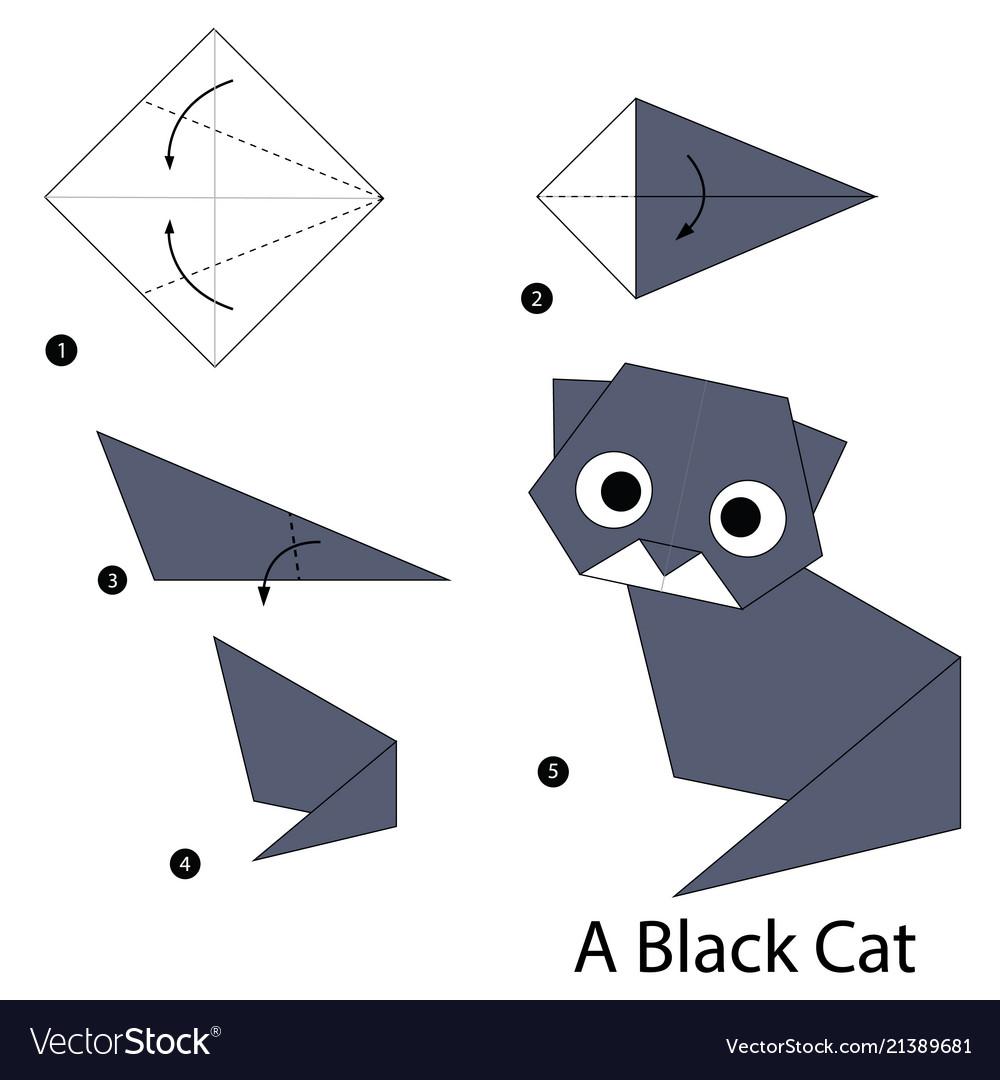 3d origami Cat Instructions . Best Of 3d origami Cat Instructions ... | 1080x1000