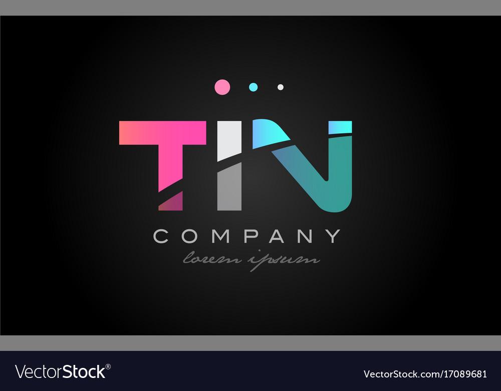 Tin t i n three letter logo icon design