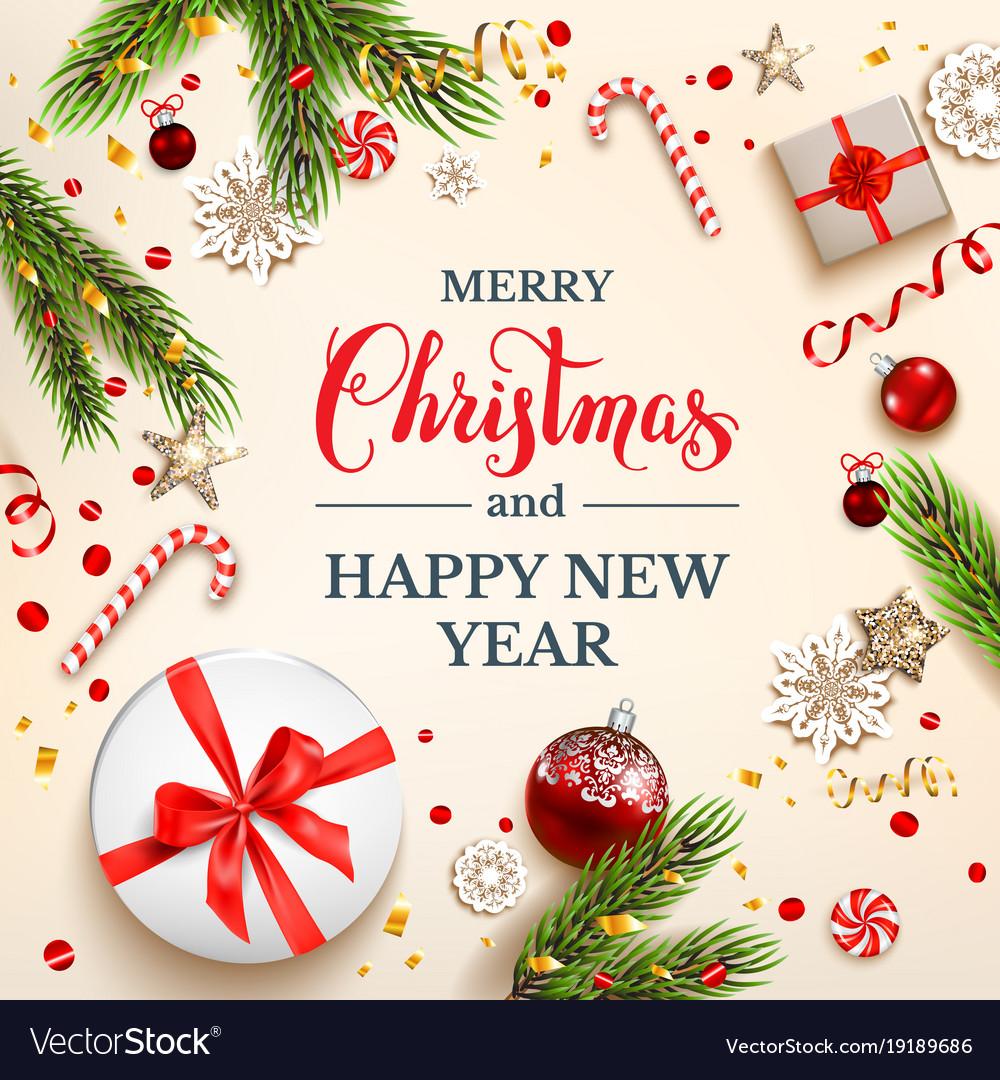 Light cristmas card