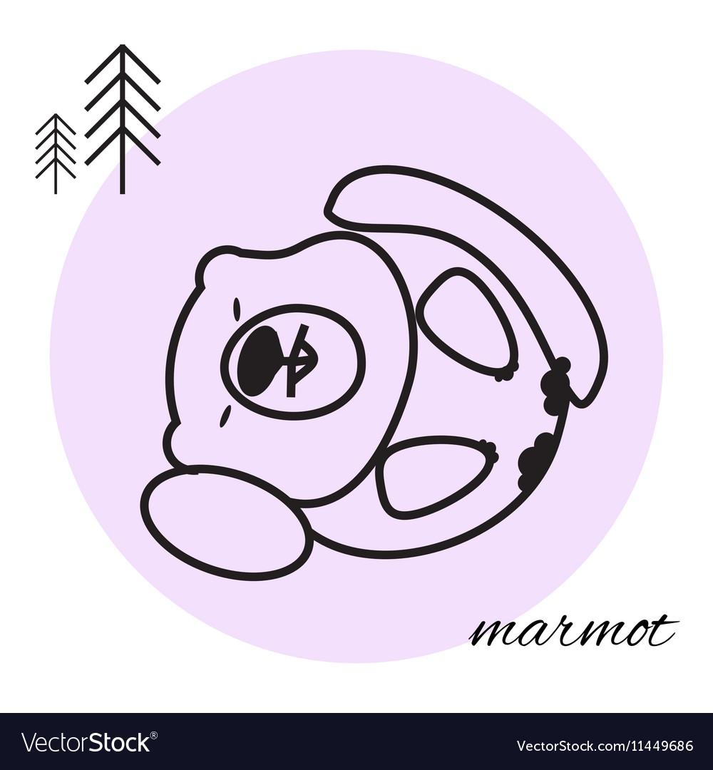 Mammon thin line icon