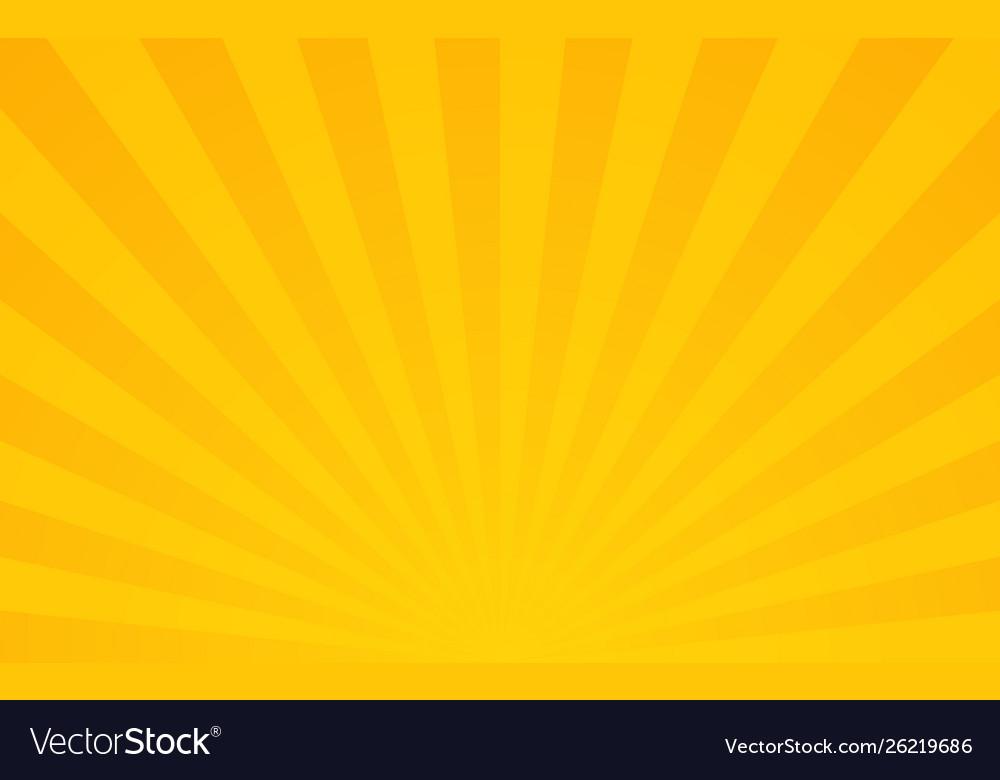 Sun rays retro sunburst background