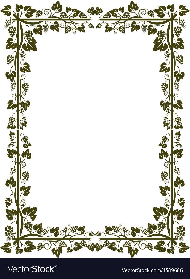 Vine frame