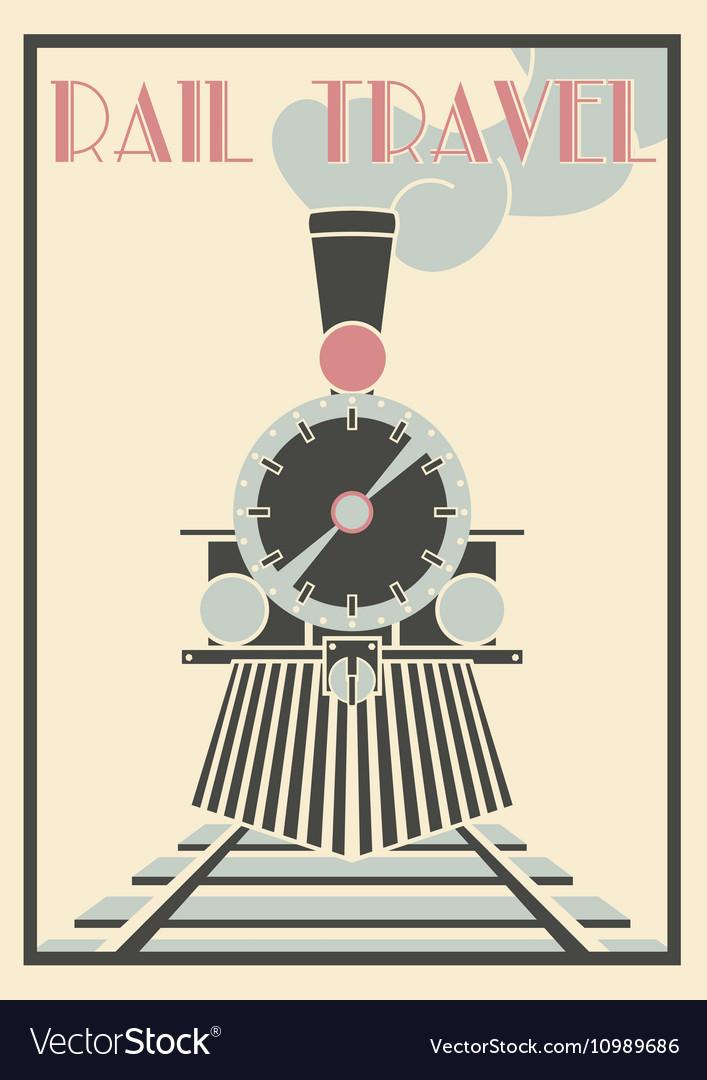 Vintage Of Steam Locomotive