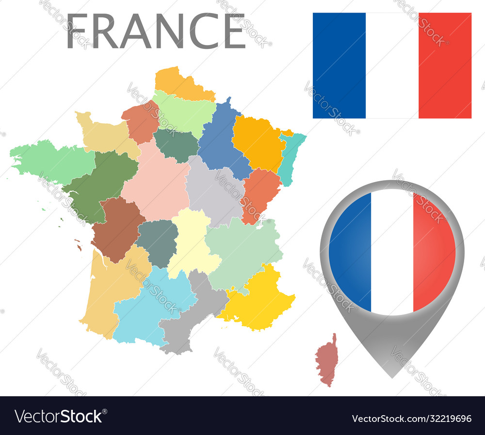 France administrative divisions