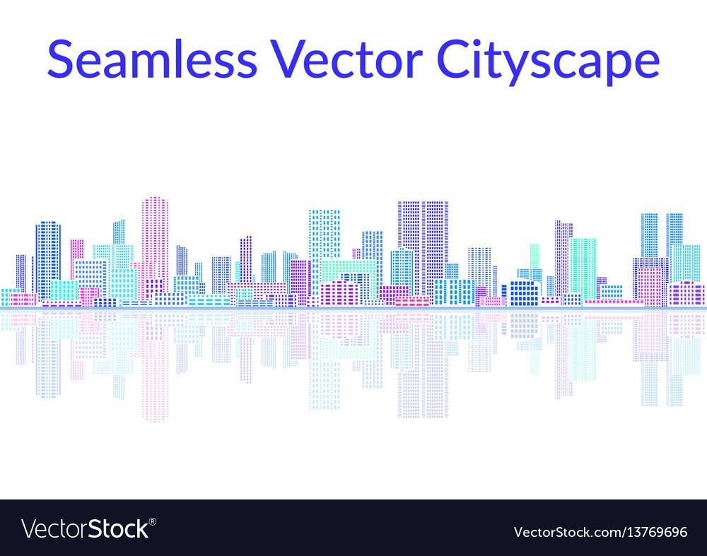 Seamless landscape city