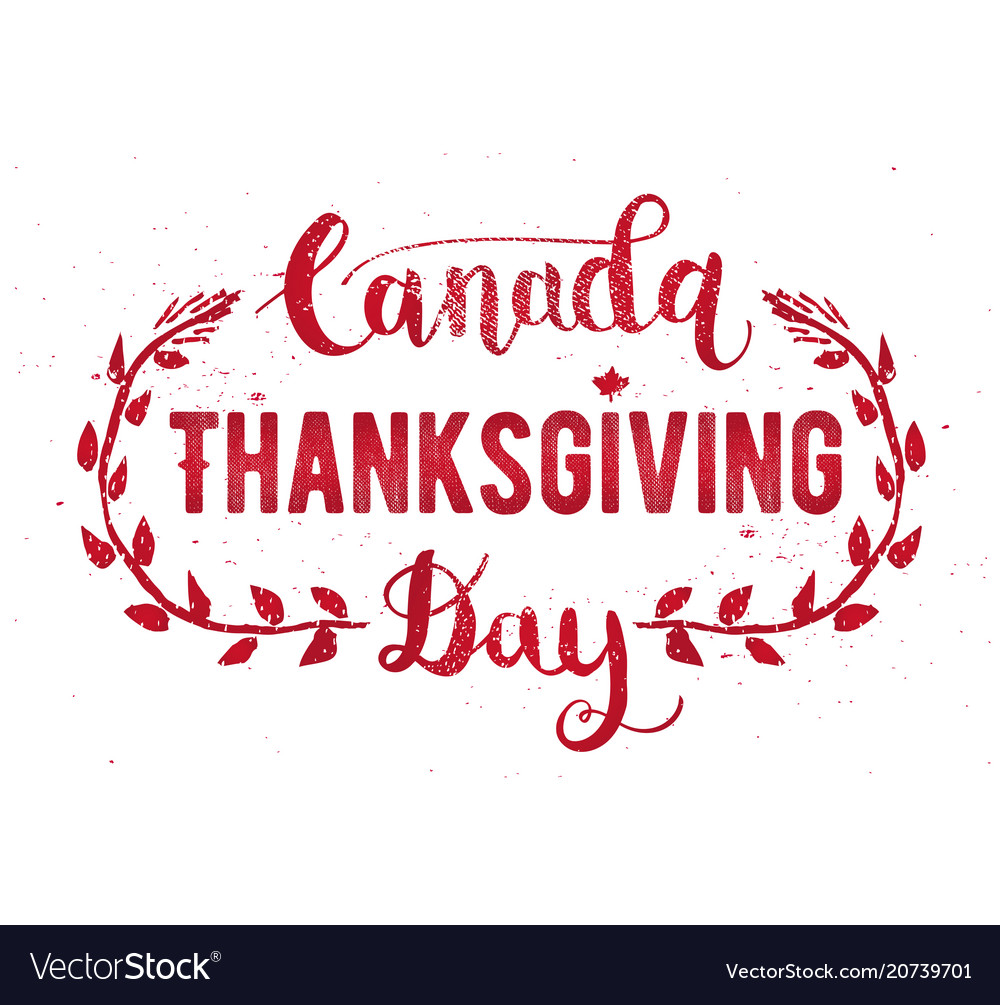 Canada thanksgiving day greeting card happy