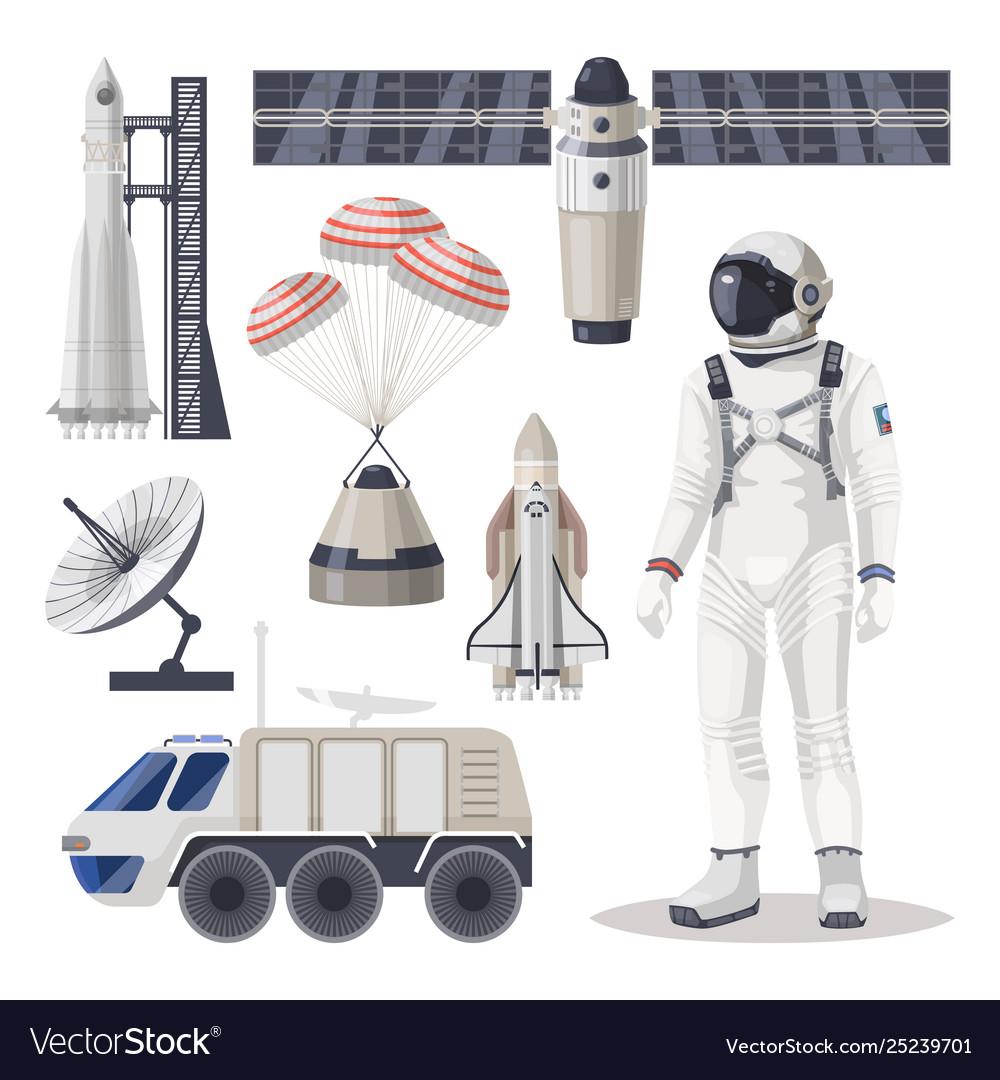 Space exploration cosmos or mars expedition item