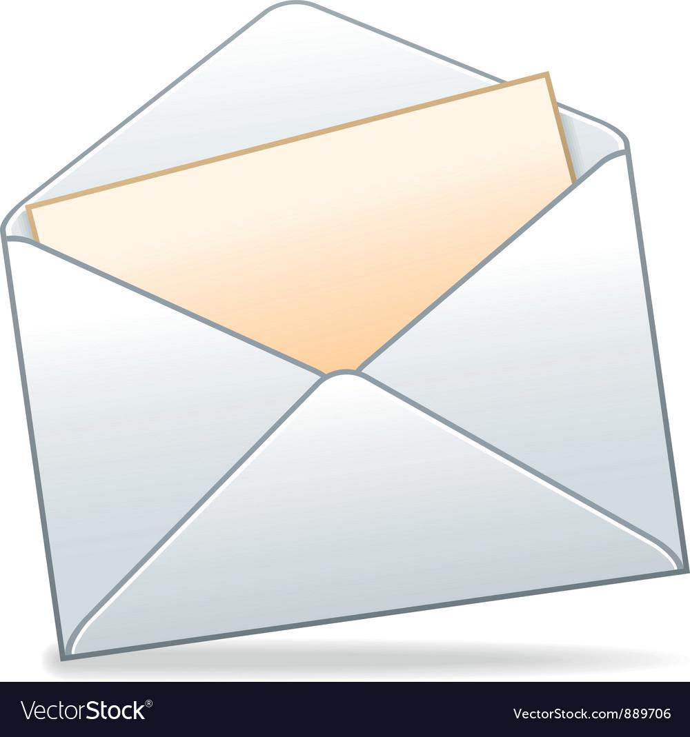 envelope royalty free vector image vectorstock rh vectorstock com envelope vector template envelope vector template