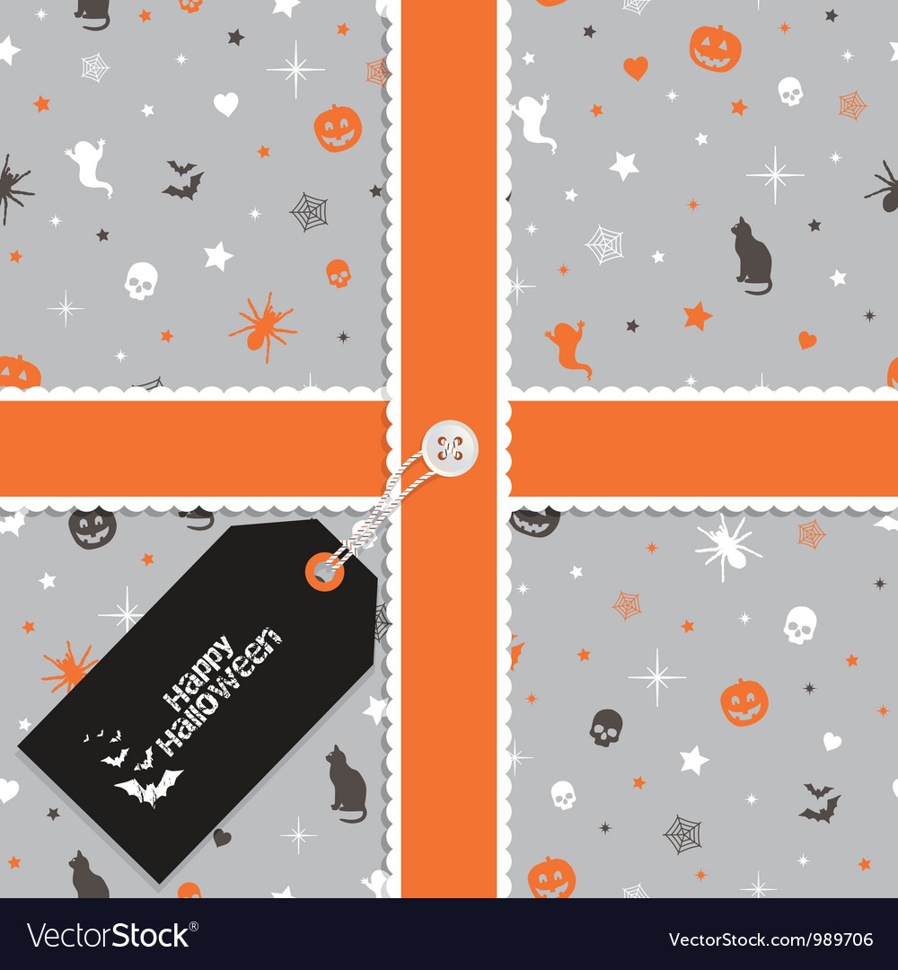 Halloween wrapping
