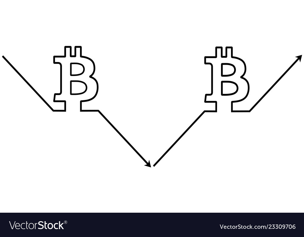 Set icons cryptocurrency bitcoin symbol