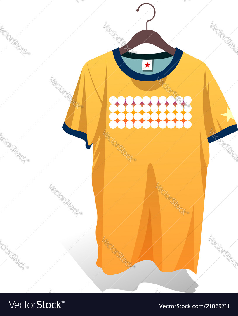 Shirts and hangers design