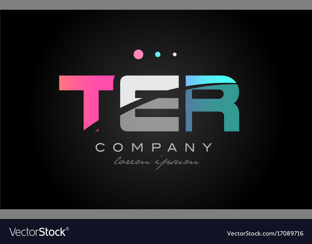 Ter t e r three letter logo icon design