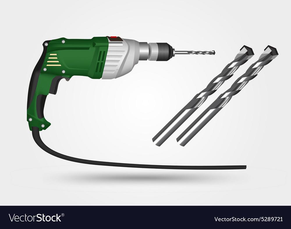 Electric drill and drill bit