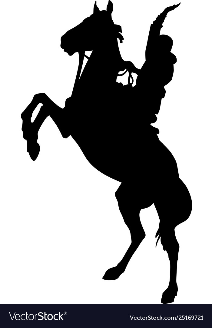 Cowgirl Horse Silhouette Vector Images 74