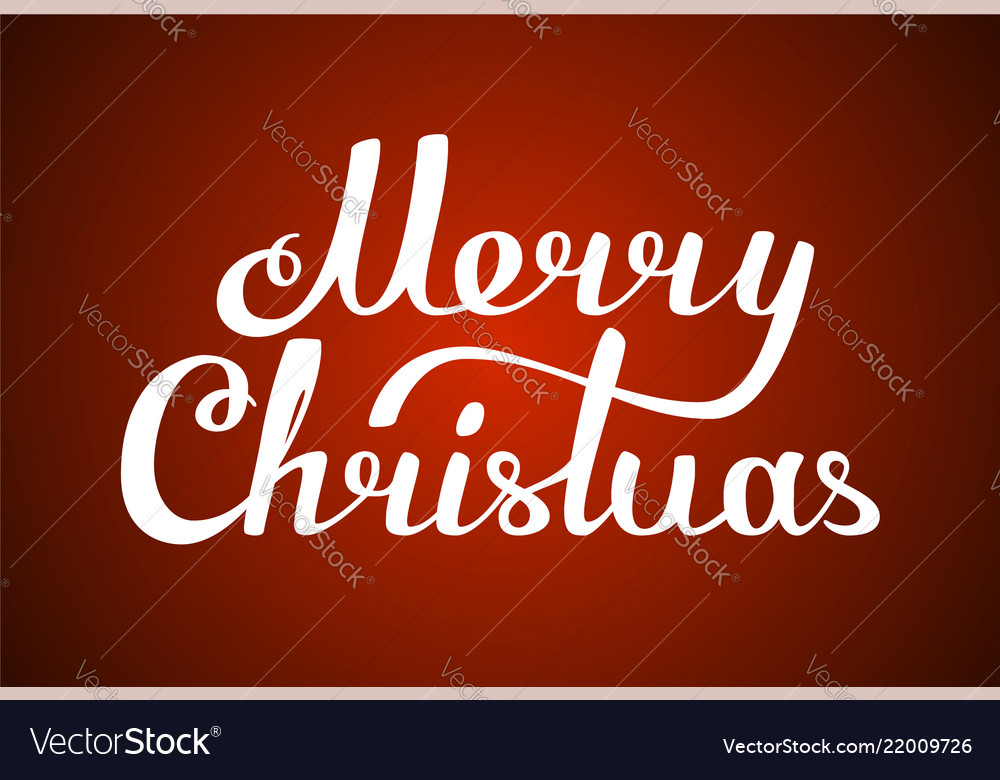 Congratulations merry christmas text lettering