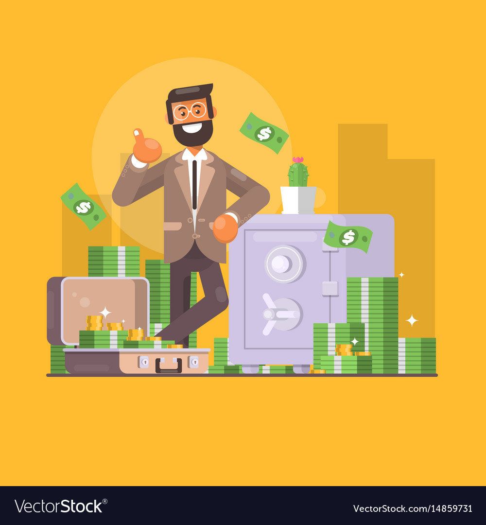 Saving money business finance and investment