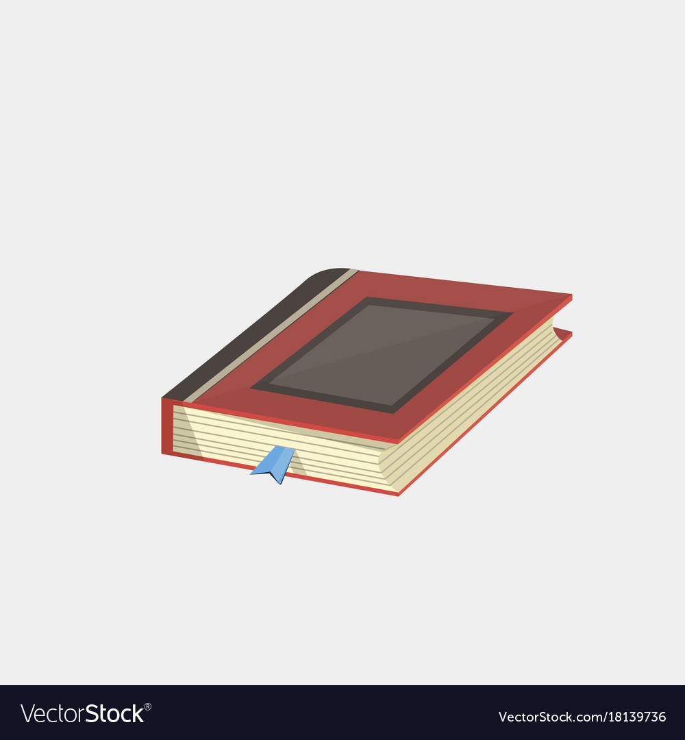 Books icon in flat design style isolated