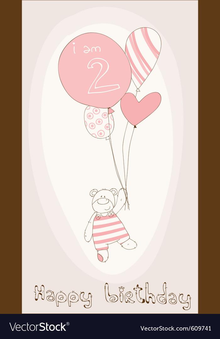 Bagirl birthday card