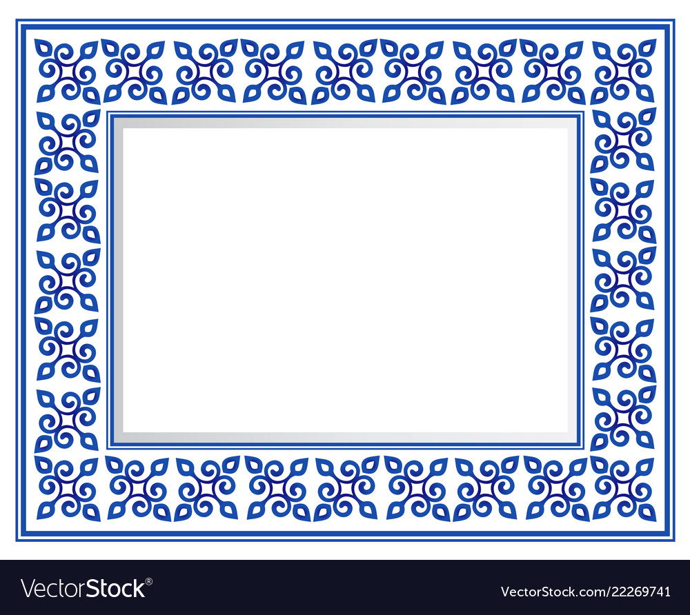 Ceramic frame