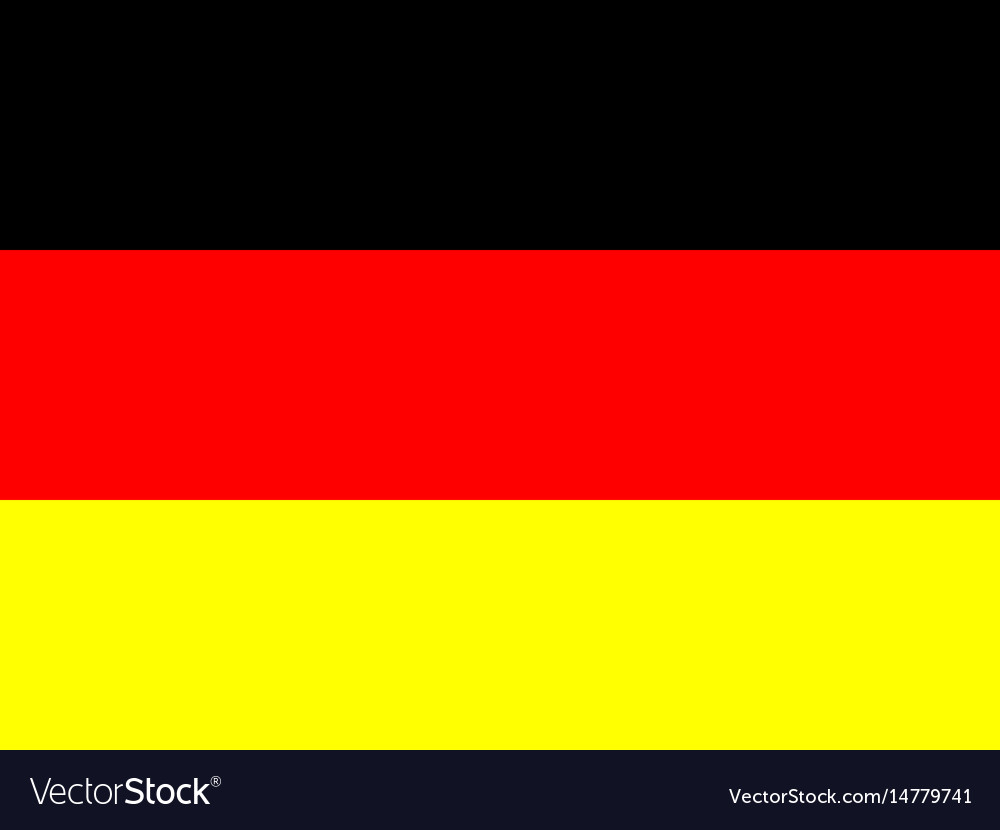 Official national flag of germany