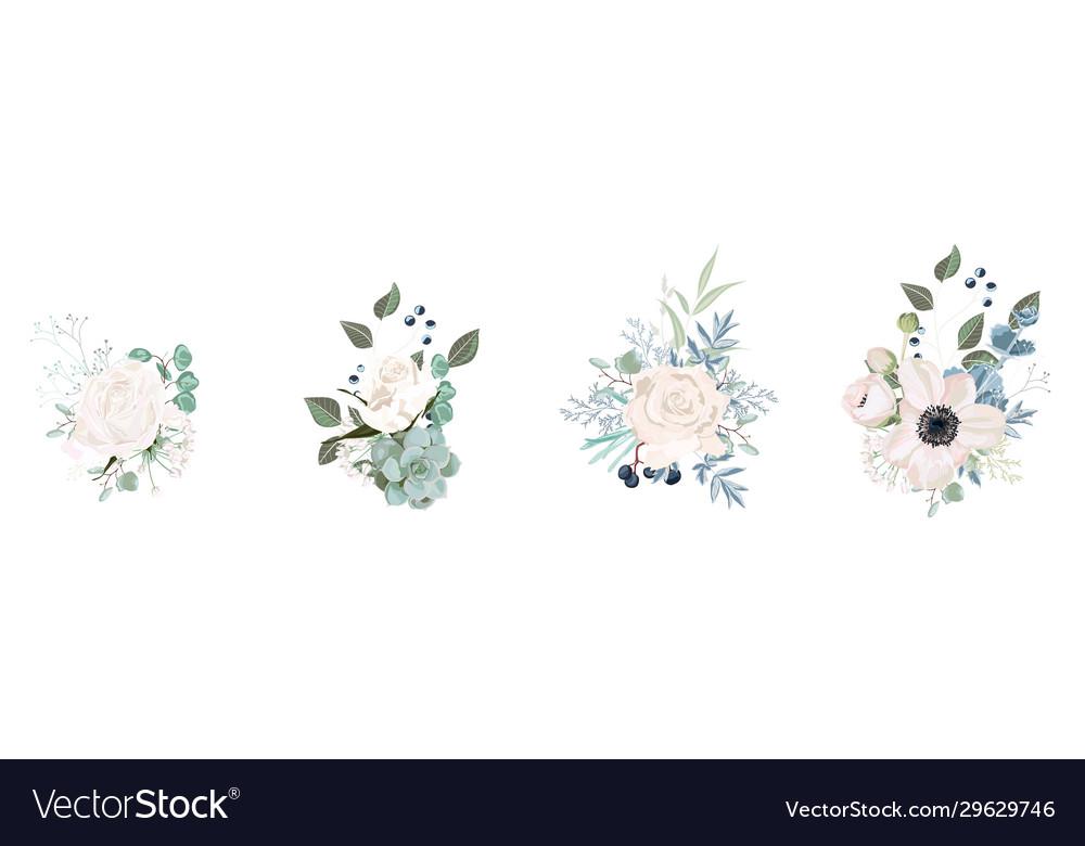 Floral bouquet for design