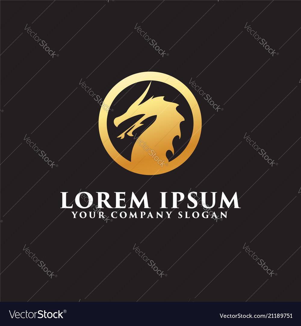 Letter h medical logo design concept template vector image