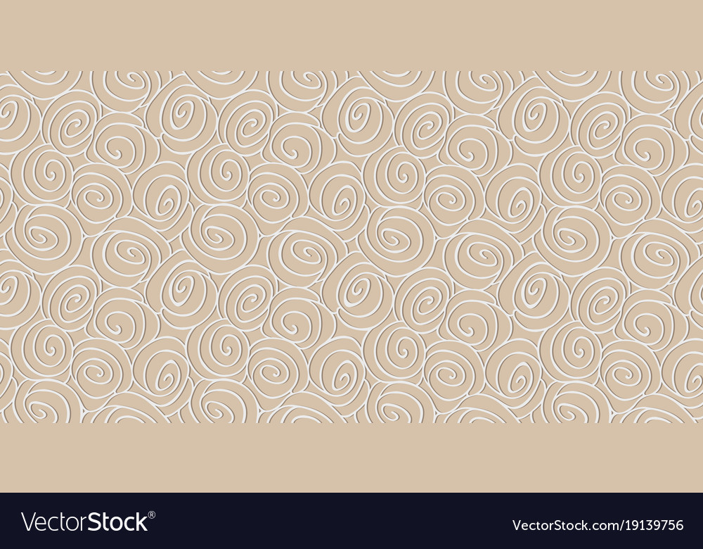 Abstract curls on a light background