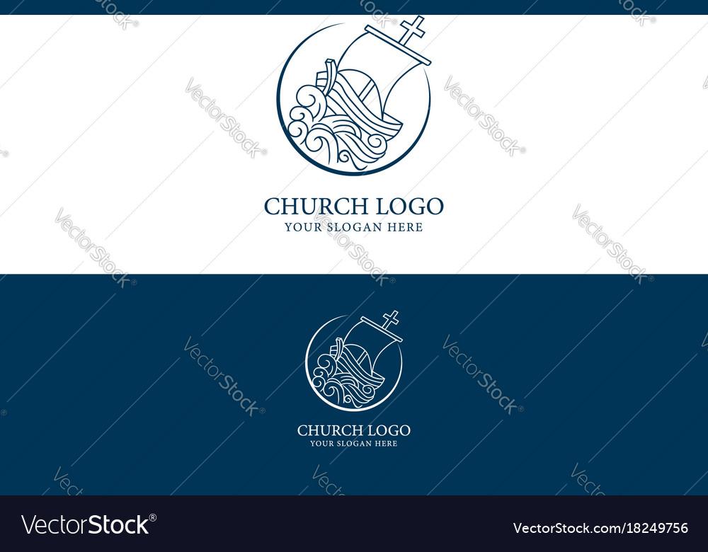 Church logo christian symbols