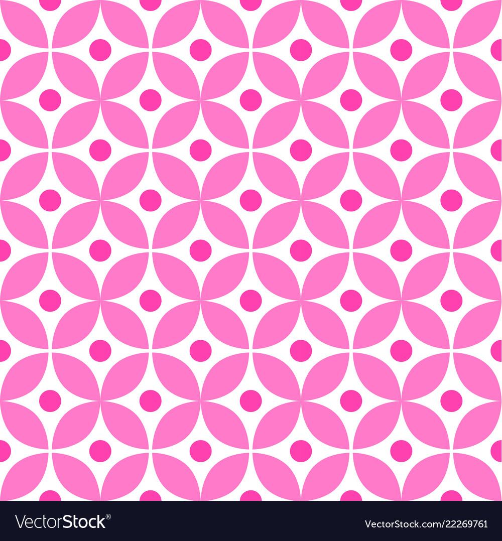 Cute pink pattern