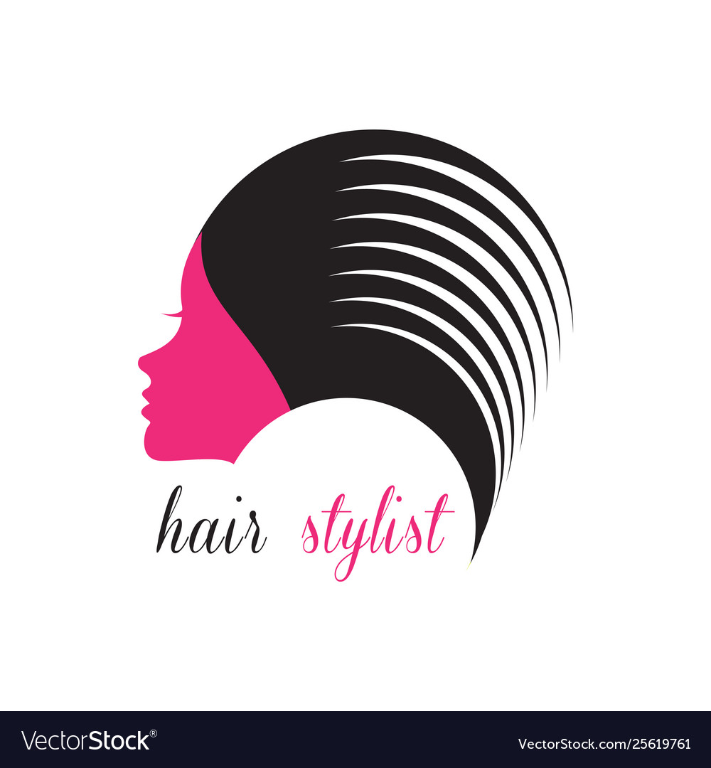 Hair Stylist Logo Beauty Salon Logo Royalty Free Vector