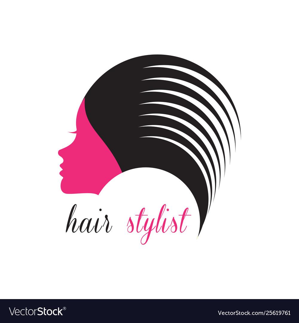 Hair stylist logo beauty salon logo
