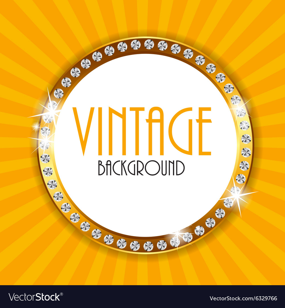 Retro Vintage Background Template