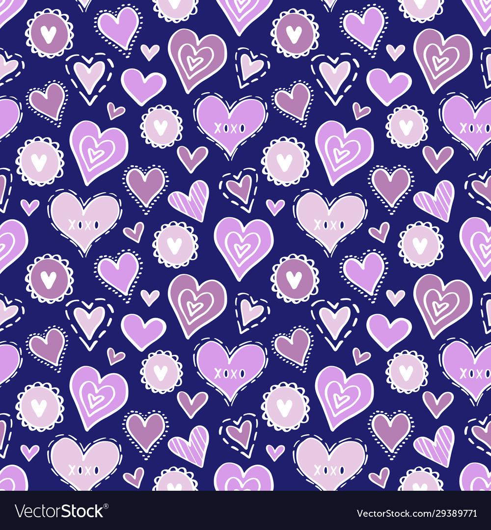 Hearts pattern love new-06